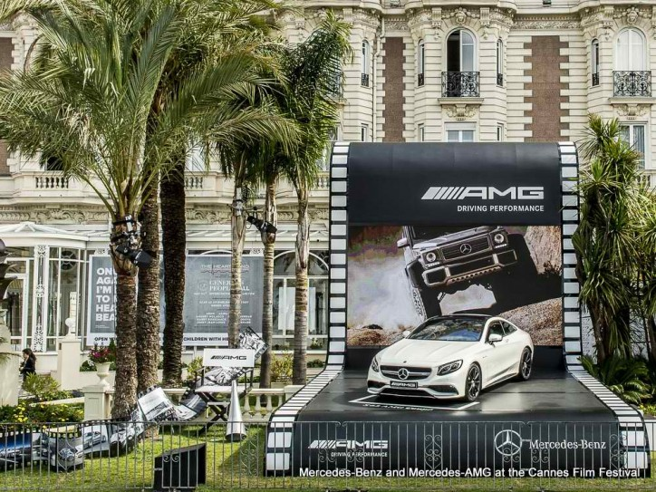 amfAR auctions Mercedes S63 AMG Coupe