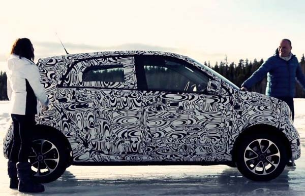 new forfour spy shot