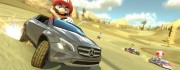 super mario driving the mercedes gla