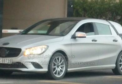 Latest Mercedes-Benz CLA Shooting Brake Seen In Dubai