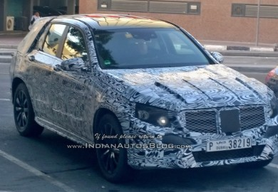 Upcoming Mercedes-Benz GLK Class Emerges In Dubai
