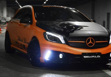 Black Bison Aftermarket Package Offered For The Mercedes-Benz A-Class