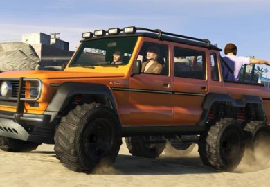 GTA V Features Its Own Version Of The Mercedes-Benz G63 AMG 6x6