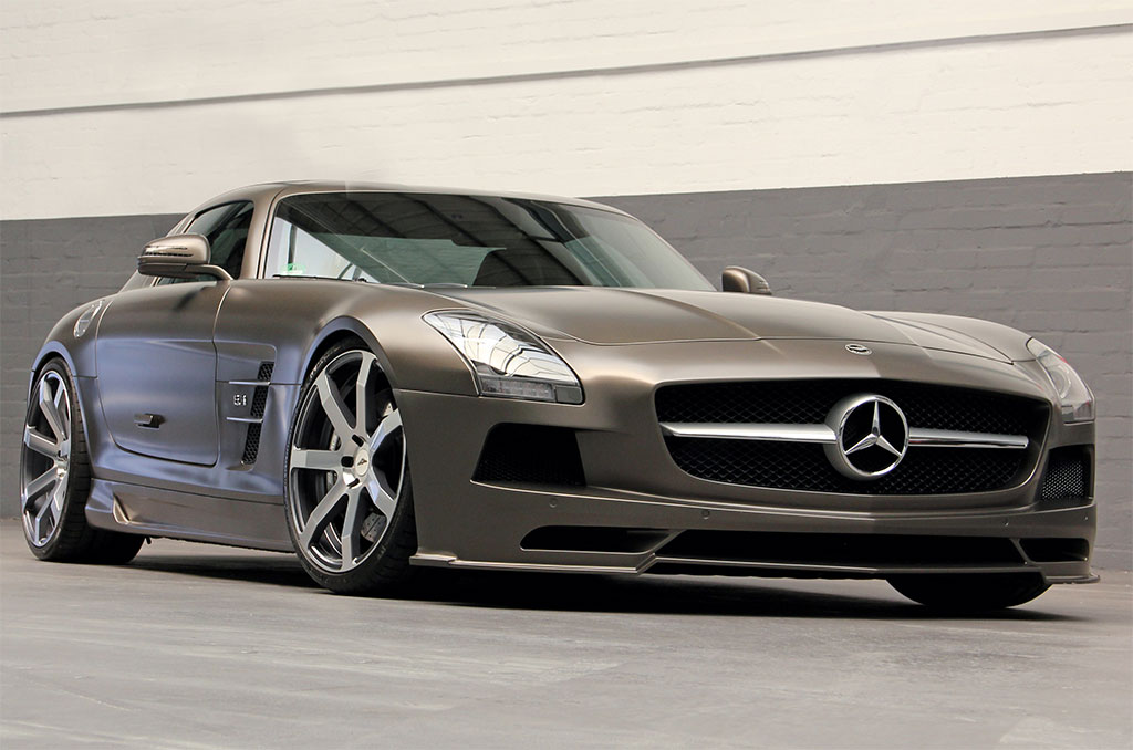 Enhancements Made On The Mercedes-Benz SLS AMG By DD Customs