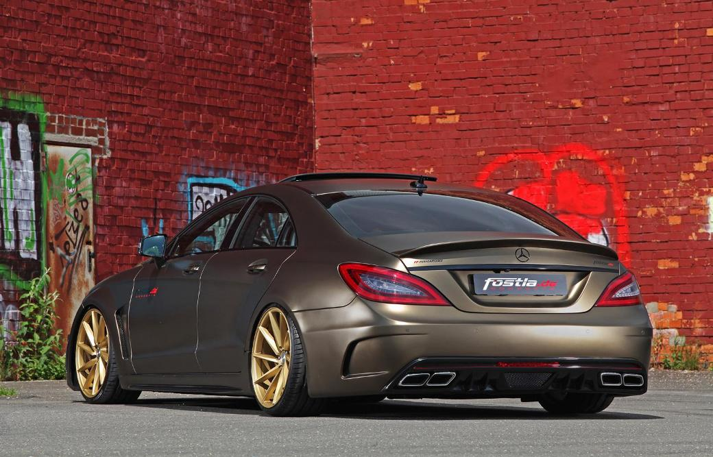 Fostia tunes mercedes benz cls 350 cdi for How long does it take to build a mercedes benz