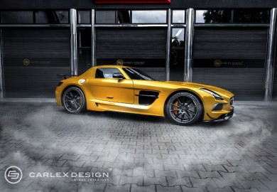 Carlex Design Did It Again With the Mercedes-Benz SLS AMG Black Series