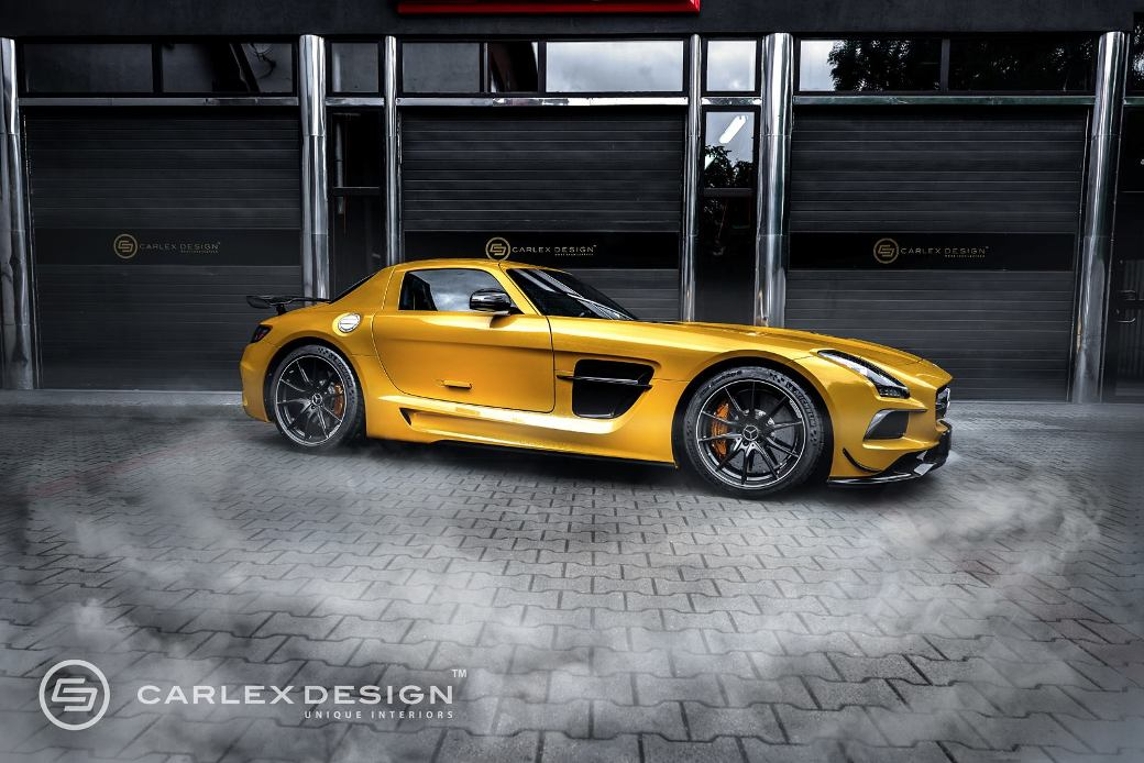 150 Carlex Design Did It Again With the Mercedes Benz SLS AMG Black Series