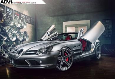 ADV.1 Wheels Enhances Mercedes-Benz SLR McLaren Roadster