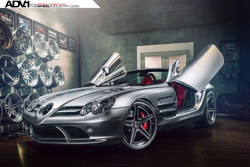ADV.1 Wheels Enhances Mercedes-Benz SLR McLaren Roadster