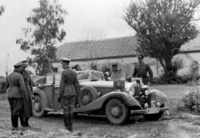 1941 mercedes-benz 540k cabriolet b