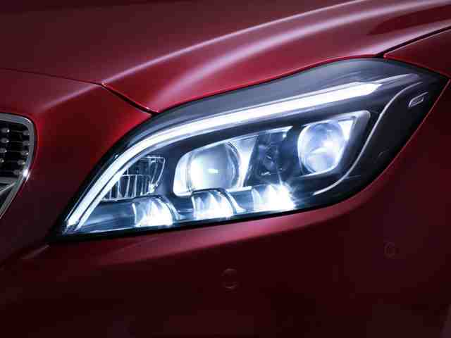 2015 mercedes cls lighting system