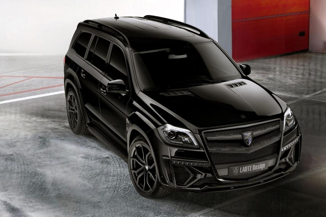 25 Mercedes Benz GL Black Crystal Introduced By Larte Design