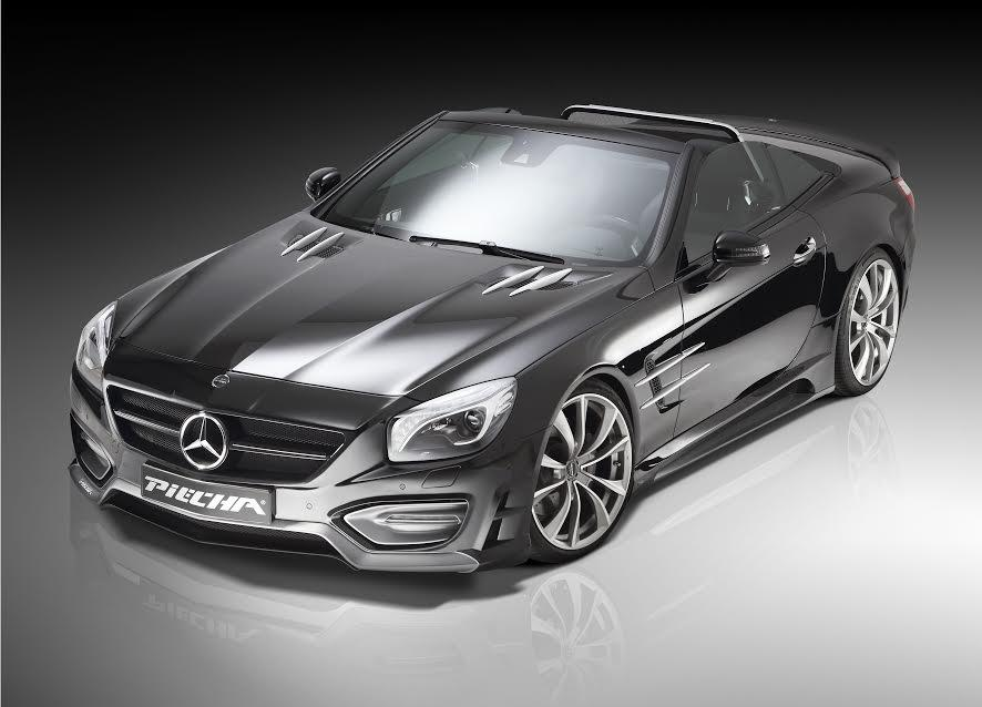 26 Avalange GT R Body Kit For Mercedes Benz SL Unveiled