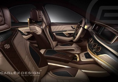 Carlex Design Releases Official Interior Render Of Mercedes-Benz S-Class