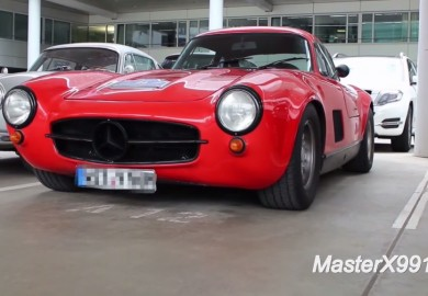 AMG-Modified Mercedes-Benz 300SL Gullwing Discovered