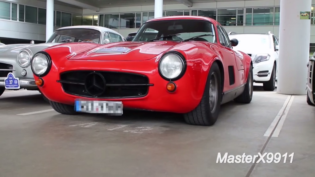 311 AMG Modified Mercedes Benz 300SL Gullwing Discovered