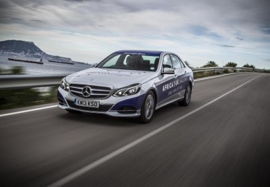 Mercedes-Benz E300 BlueTEC Hybrid Completes Epic Journey With A Single Tank Of Fuel