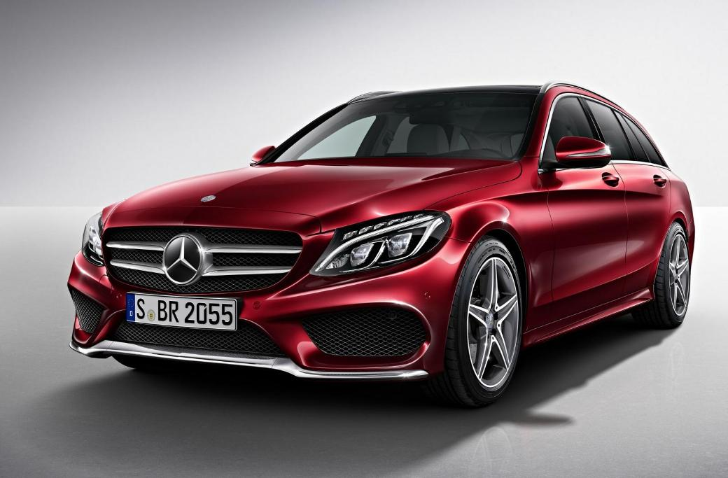 512 Mercedes Benz C Class Estate AMG Line Officially Unveiled