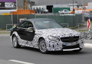Potential New Mercedes-Benz E-Class Spotted Recently