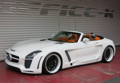 Mercedes-Benz SLS AMG Given The Jetstream Body Kit From FAB Design
