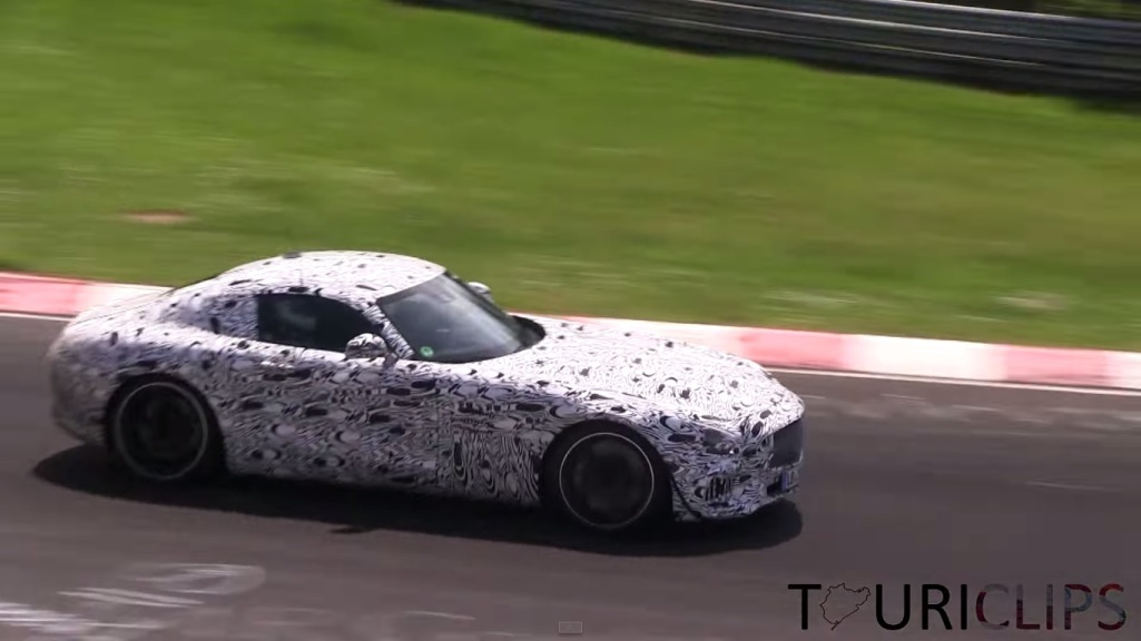 75 Mercedes Benz AMG GT Spotted Again At Nurburgring