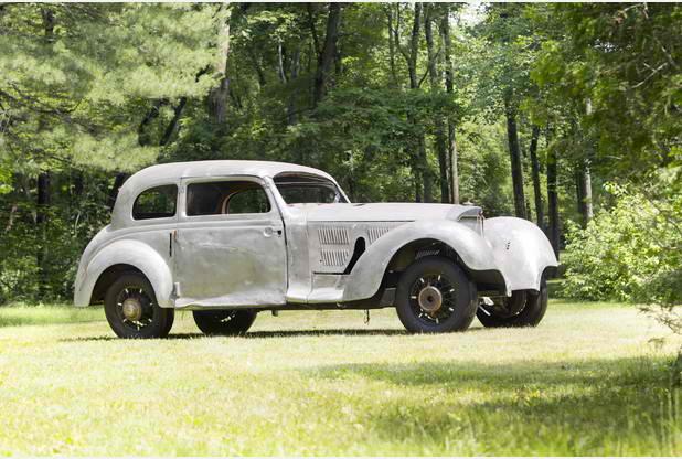Aktion P Mercedes 540K