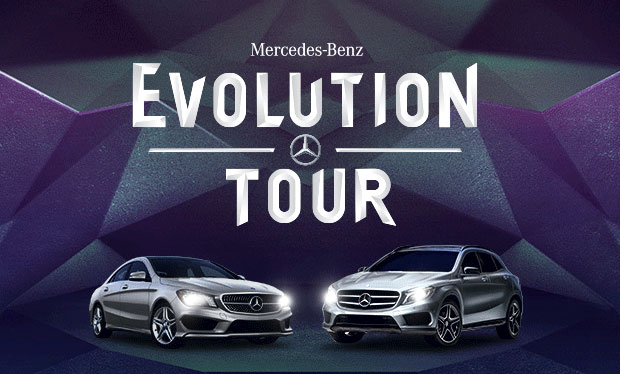 Mercedes Benz GLA Evolution Tour CLA, GLA take center stage at upcoming Mercedes Benz Evolution Tour