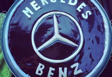 Mercedes-Benz-Themed Cake 1