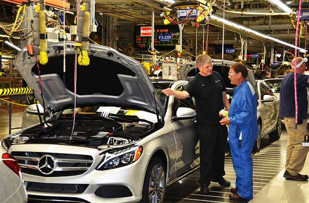 Mercedes-Benz-Tuscaloosa-plant-starts-C-Class-production