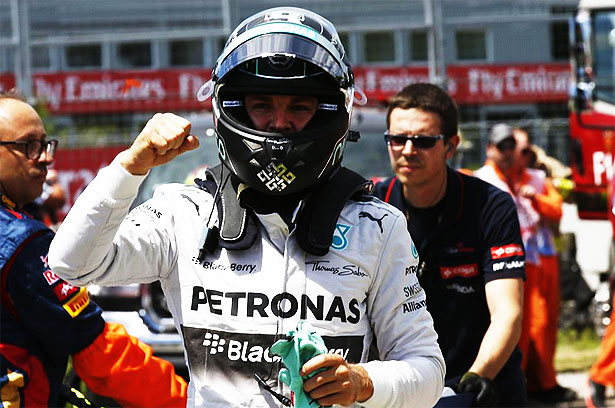 Nico Rosberg takes pole position at 2014 Canadian Grand Prix Rosberg takes pole at Canadian GP in another Mercedes front row lockout