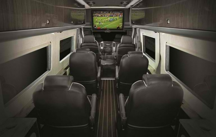 airstream 724x459 Airstream Converts a Sprinter Interior Into an Ultra Luxurious Cabin