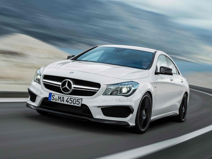 mercedes benz cla 724x543 BMW Catches Up with Mercedes Benz in U.S. Sales