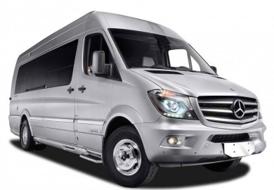 mercedes-benz sprinter redesigned by airstream
