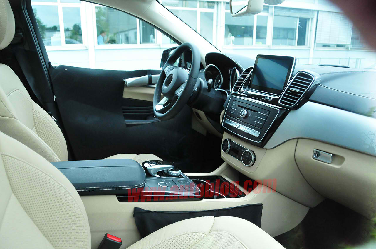 Mercedes Benz Mlc Interior Caught On Cam Benzinsider Com
