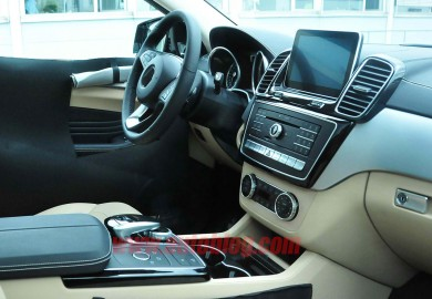 mercedes-benz mlc interior