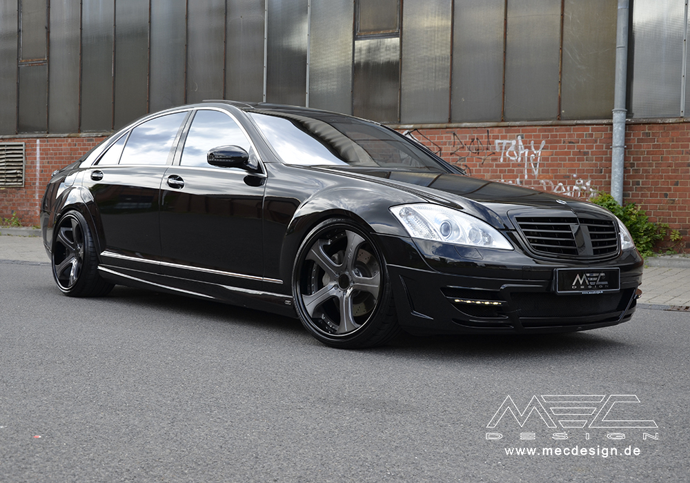 Mercedes S500 With Mec Design Package 1 Benzinsider