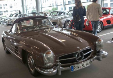 mercedes 300 sl gathering