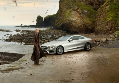 tilda swinton in new mercedes-benz ad