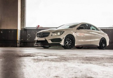 Standard Mercedes-Benz CLA Enhanced With The RevoZport CLA290