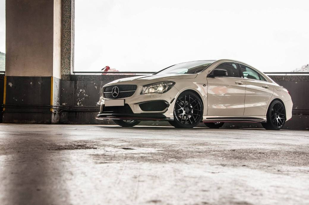 1 Standard Mercedes Benz CLA Enhanced With The RevoZport CLA290