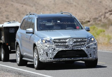 Death Valley Tests For The Mercedes-Benz GL