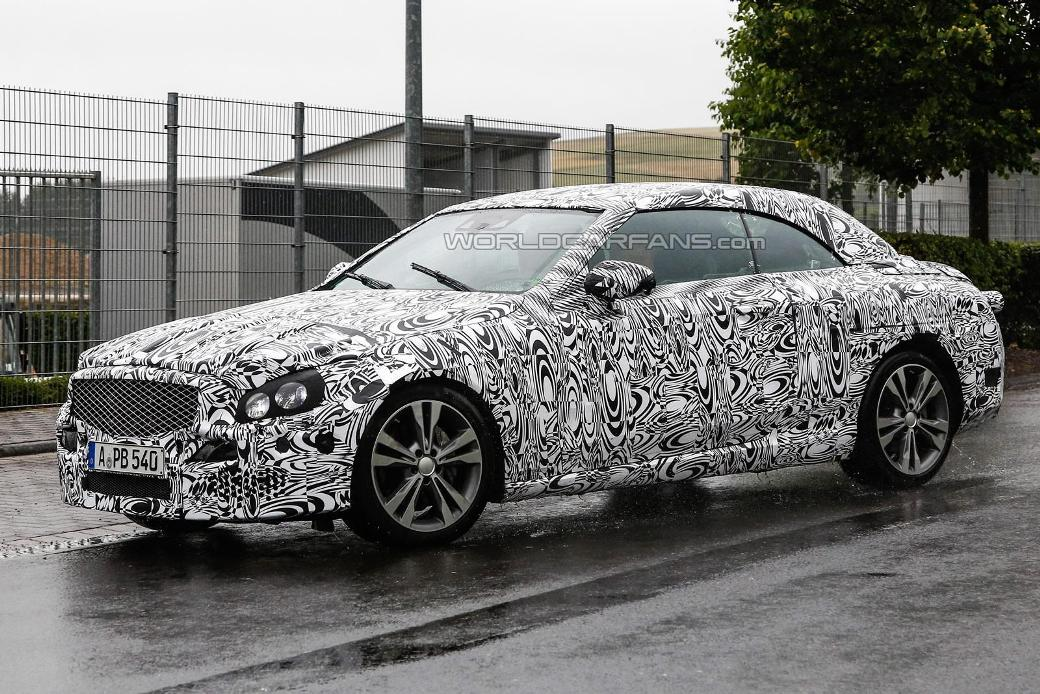 Spy Shots Of 2016 Mercedes-Benz C-Class Cabriolet Emerge