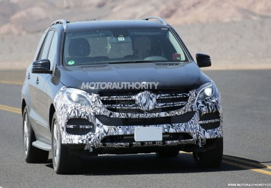 Latest Spy Shots Of 2015 Mercedes-Benz M-Class Emerge