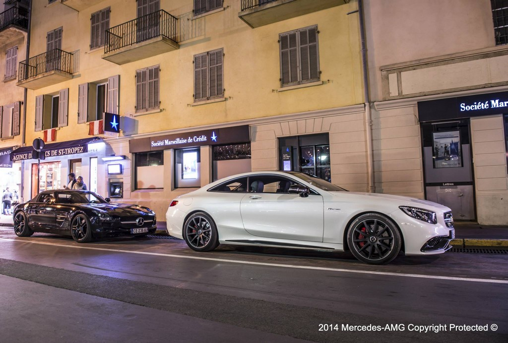 Hugo Boss Photo Shoot Highlights The Mercedes Benz S63 Amg