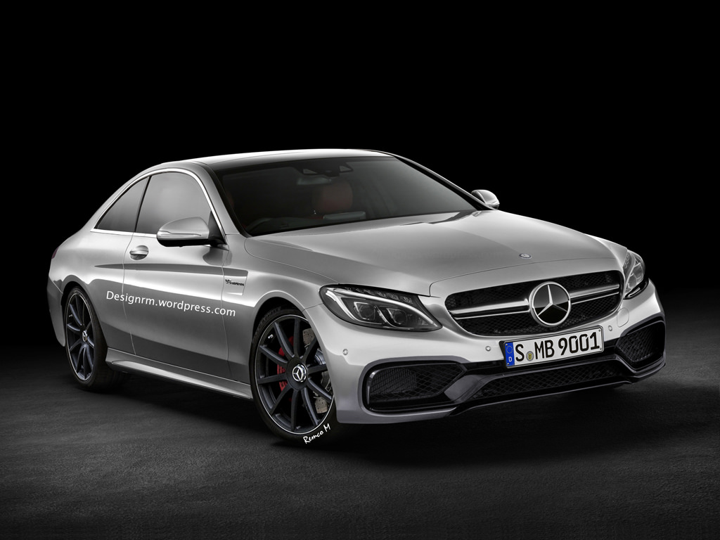 Rendering Of Upcoming Mercedes-Benz C63 AMG Coupe Unveiled