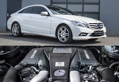 Mcchip-DKR Gives Mercedes-Benz E-Class Coupe 350 A V8 AMG Engine