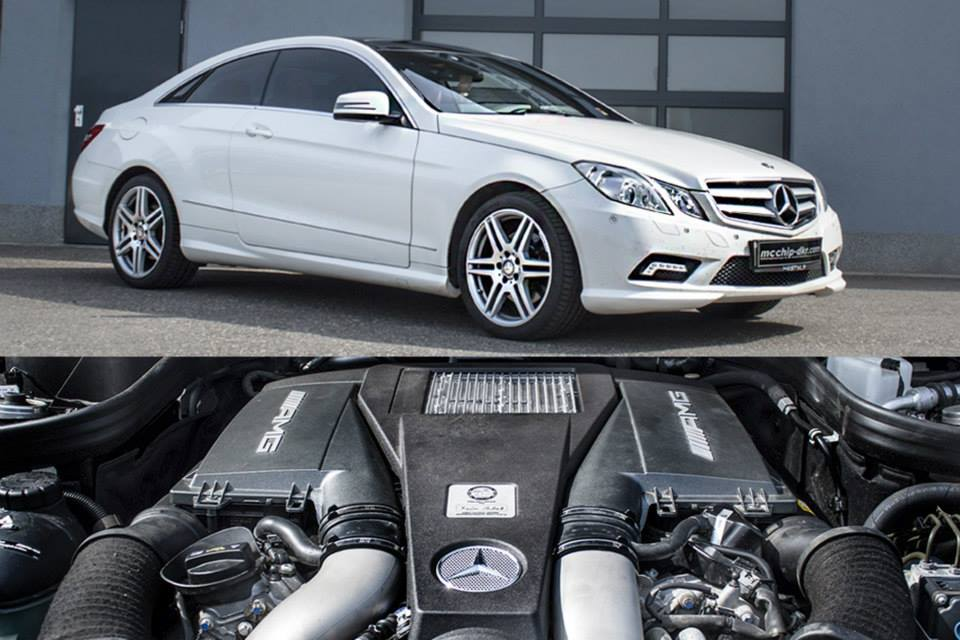 Mcchip-DKR Gives Mercedes-Benz E-Class Coupe 350 A V8 AMG Engine - BenzInsider.com - A Mercedes ...