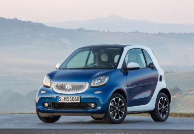 2016 smart fortwo exterior