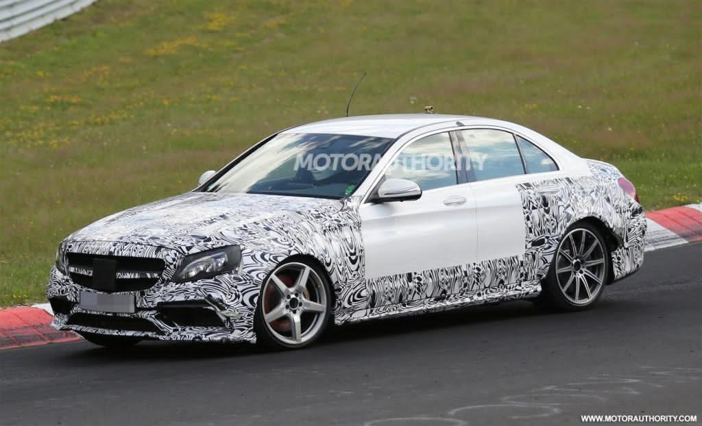2017 mercedes e63 amg prototype spied for Mercedes benz e63 amg 2017