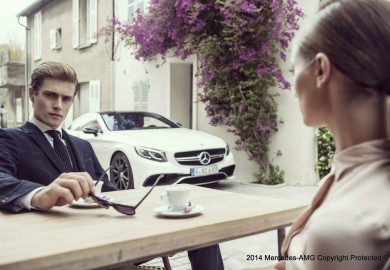 Hugo Boss Photo Shoot Highlights The Mercedes-Benz S63 AMG Coupe